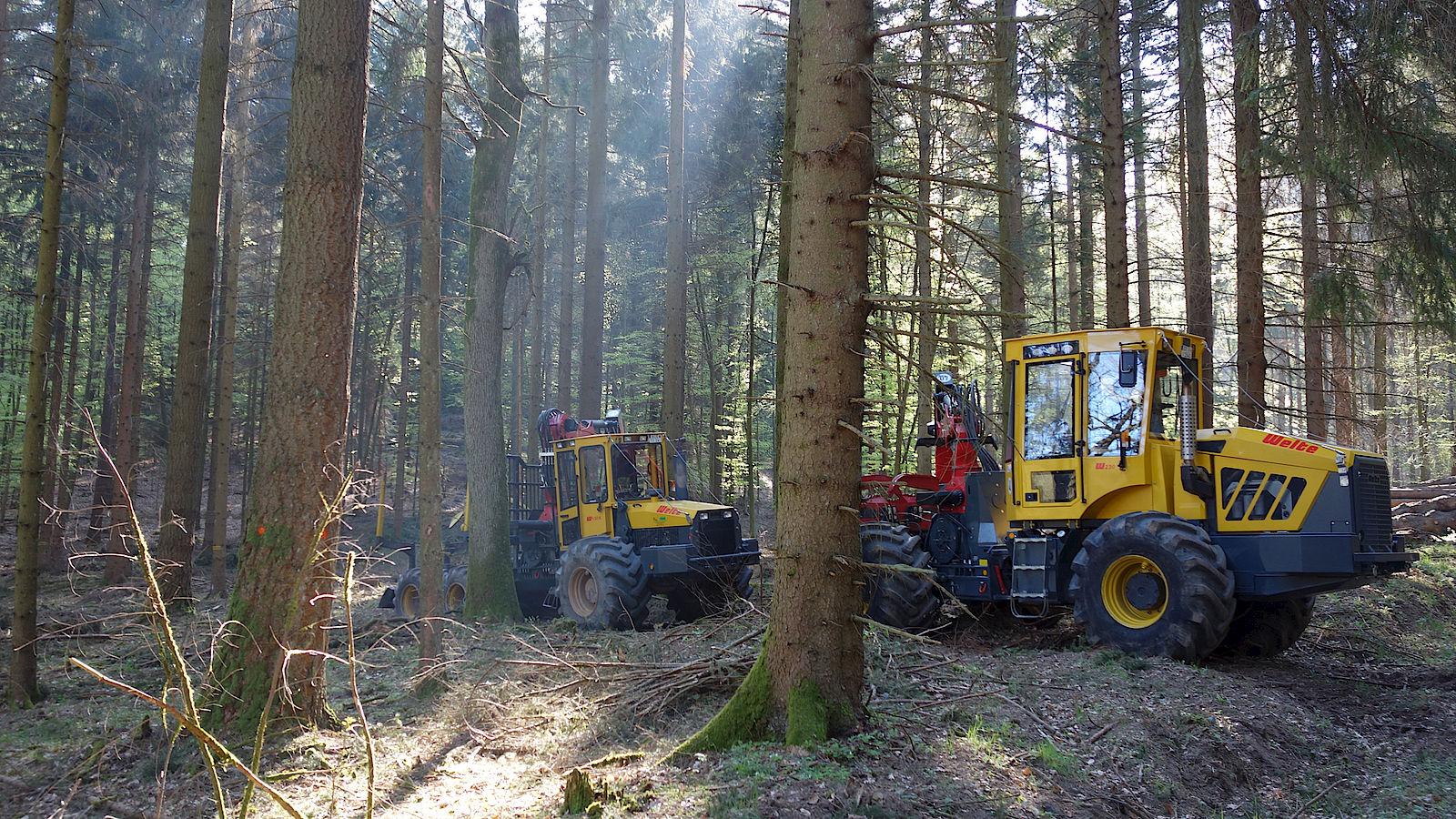Press - Welte Forstmaschinen, Kombimaschinen